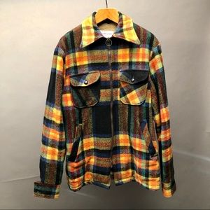 McGregor Jacket Size 42 Men's Plaid Multi Color